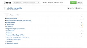 Builderの公式ドキュメントページ