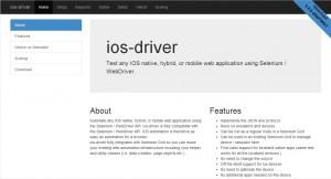 ios-driverのウェブサイト
